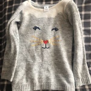 Other - Kids size 3 kitty sweater